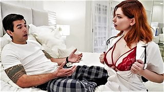 Big Titted Nurse Gets The Wrong Pills And Gives Him Viagra