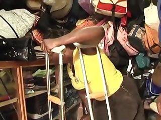 Dicks clips polio Polio lady