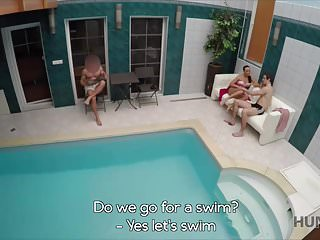 Private wife sex friend Hunt4k. sex adventures in private swimming pool