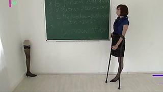 Amputee RAK teacher