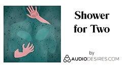 Dusche für zwei (erotischer Audio-Porno für Frauen, sexy asmr)