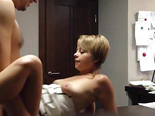 Boss fucking nurse Boss fucking his russian secretary on table