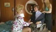 Sharon Mitchell, Jay Pierce, Marco in vintage sex scene