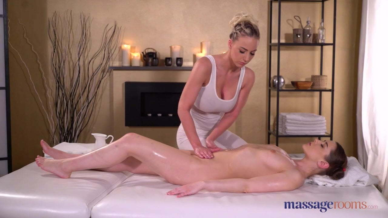 Massage Room Lesbian Kissing