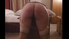 Miss M's Bare Bottom Strokes