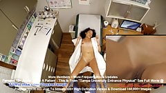 Yasmine Woods Gyno Exam Caught On Hidden Cam By Doctor Tampa