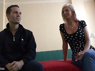 Blondine porn Deutsche blondine bei ihrem ersten fickdate