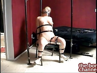 Naked chair bound Chair bound orgasms