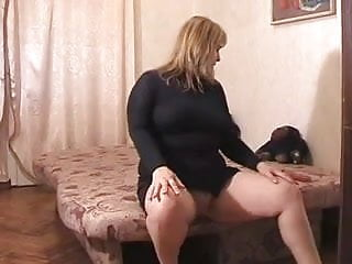 Shave pussy celebrity - Chubby blonde plays with her shave pussy