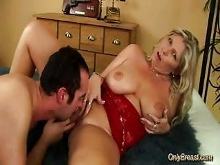 Doe breast cancer - Big breasts babe gets fucked and does oral job hard