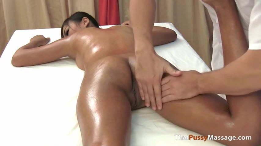 Thai naked massage video