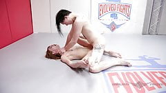 Alexa Nova nude wrestling turns to anal sex