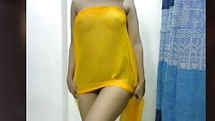 Bengali girl in live can