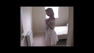 Wicked Wanton Woman in White