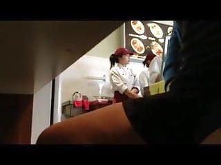 Naked girl restaurant - Chinese restaurant wanker