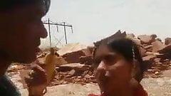 Rajasthan cople standing sucking fucking