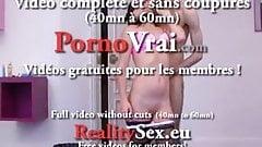 Fille tres chaude se tape 2 mecs et orgasme !!! French amat