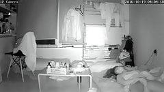 Asian girl masturbating in front of spy cam