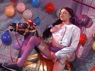 Gina wild interracial paint sex Porno classics vol.14