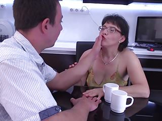 Free mom fucking son galleries - Unshaved mature mom fucking with kinky son