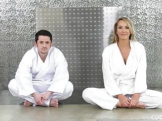 Teen karate photos Big boob blonde prefers karate cock over cucked husbands