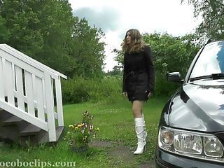 Heroine in peril super teen Summerholiday in peril jocoboclips.com