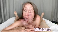 Lelu Love-Penis Worship Blowjob I LOVE Your Cock