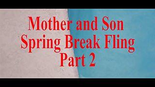 Mother Step Son Spring Break Sex POV part 2