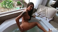 jerk off Fucking the ass of the hot lover in the hotub - Ana Rothbard naked model