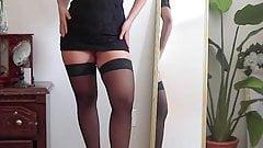 Atomickeeratic Asian Girl in Pantyhose 2