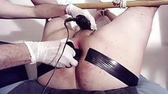 Dr Peeemeee & Giorgio: bondage and gaping