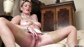 Betsy Blue has a bit of naughty fun