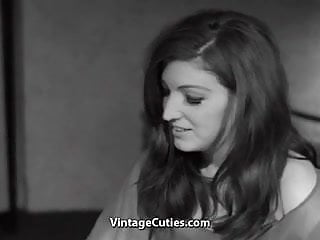 Flatchest shemales - Pretty flatchested teen gets soft fucking 1960s vintage