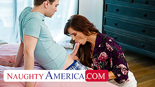 Naughty America - Hot MILF Syren De Mer loves younger cock