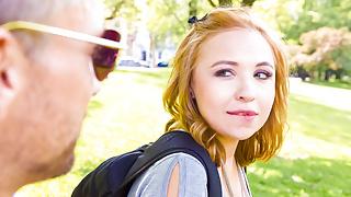 LETSDOEIT - Russian Blonde Tourist Seduced and Fucked Hard