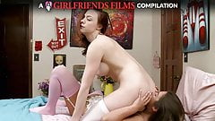 Lesbian Facesitting Compilation - GirlfriendsFilms