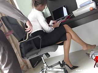 Cumming In My Secretary S Shoe