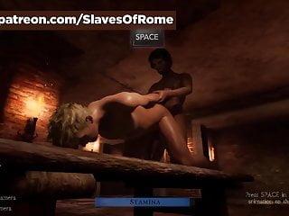 Fucking male she - Slaves of rome game - in-game fucking male slave sex scene