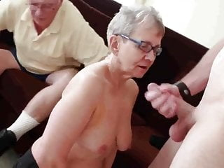 Granny and young porn