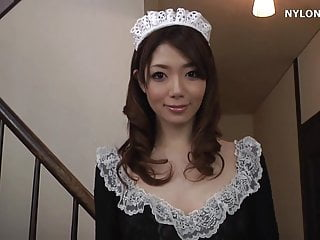Minchin upskirt Stockings maid nylon stockings maid fetish sex