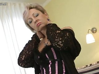 Amateur grannies video Horny mature mom fucked by young boy