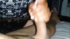 Comadre mamando golosa