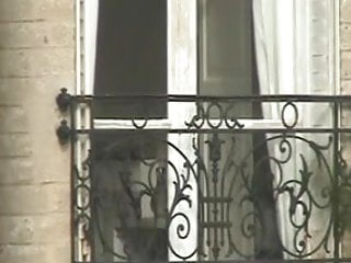 Teen bedding and curtains - Parisian blonde neighbour forgot about the curtains