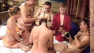 Swingers party and hidden cams in Big Sister