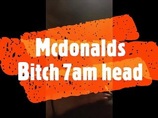 Mcdonald and gays - Mcdonalds bitch