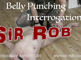 Gay prison humiliation erotic interrogation slave - Sir rob - belly punching interrogation torture punishment