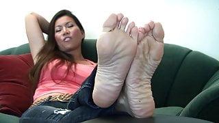 Hot asain feet