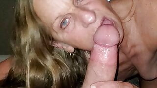 MARRIED SLUT LESLIE RIDES DADDY'S THICK COCK REVERSE COWGIRL