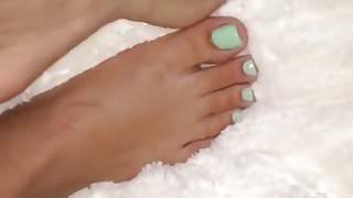 Pretty Feet & Toes Plush
