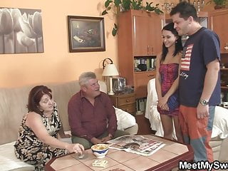 Couple seduce young innocent slut load - His innocent girl seduced by not granny and old daddy